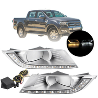 Led Fog Lamp Cover For Ford Ranger T7 2015-2017