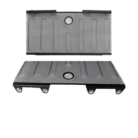 Jeep Jk Wrangler 3D Mesh Grille (Black) Material: Stainless Steel With or without Lock Hole for Jeep Wrangler JK