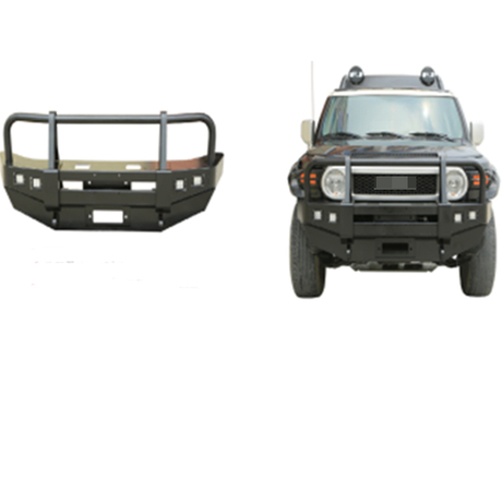 Steel Heavy Duty Front Bumper with LED Lights for Toyota FJ Cruiser