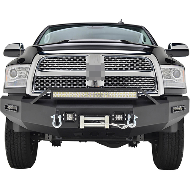 10-16 Dodge Ram 2500 Front Led Winch Bumper for Dodge Ram