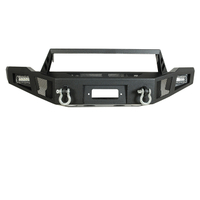 14-15 GMC Sierra 1500 Heavy Duty Front Winch Bumper with LED Lights for GMC Sierra