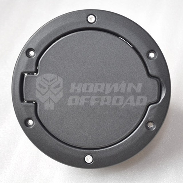 Powder-coated Fuel Tank Caps with LOGO for Jeep Wrangler JK