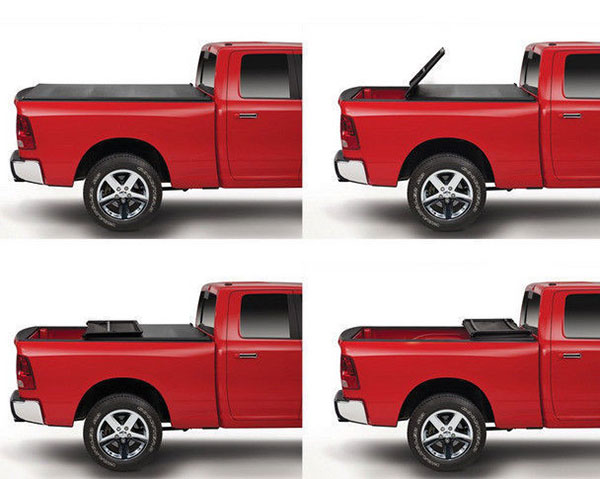 Soft Tri-fold Tonneau Cover for Chevy Silverado GMC Sierra 1500 '14-18
