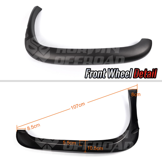 OE Factory Style 1994-2001 Dodge Ram 1500 2500 3500 Fender Flares
