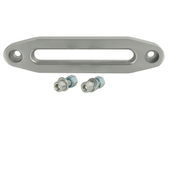 "10"" Aluminum Billet fairlead for Synthetic Winch Rope with hardware for Jeep Wrangler TJ"
