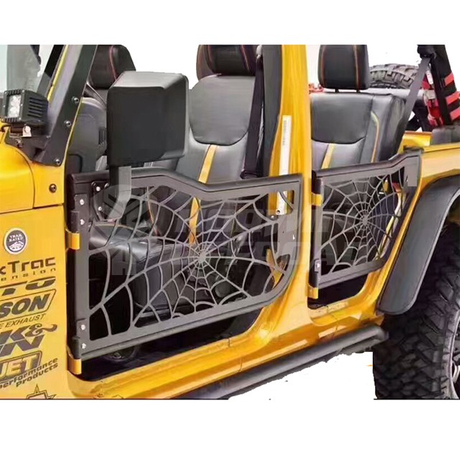 07-16 Jeep Wrangler JK (4 Door) SpiderTubular Doors With Reflection Mirror