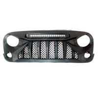 Jeep Wrangler JK Grill with Leds