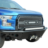 15-16 Tubolar Front Winch Bumper for Ford F150