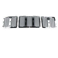 inside chromed grille for Grand Cherokee