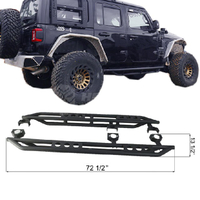 Tube Side Step for 4 Door for Jeep Wrangler JL
