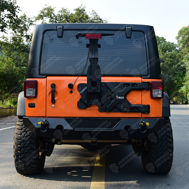 Hinge And Tire Carrier for Jeep Wrangler JK